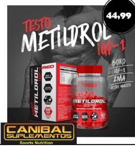 TESTO METILDROL RED 60CAPS