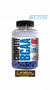 BCAA 120tabs RED SERIES