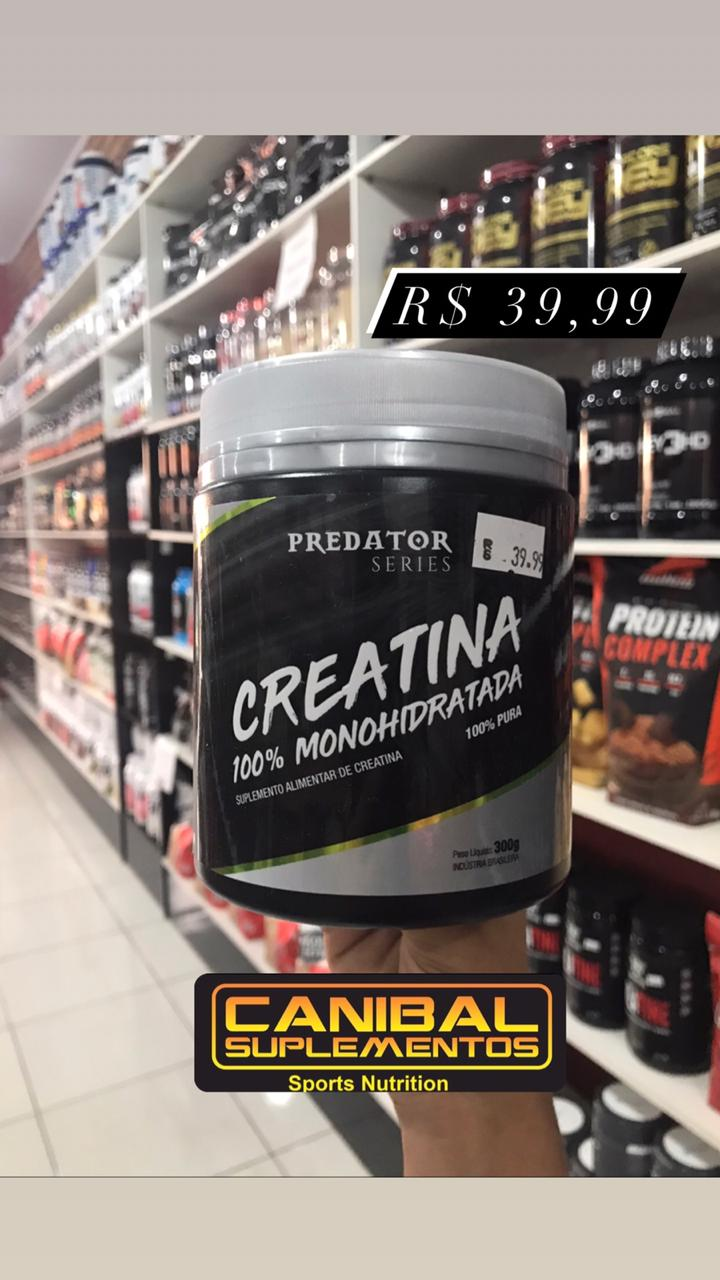 Creatina 300g PREDATOR SERIES NUTRATA