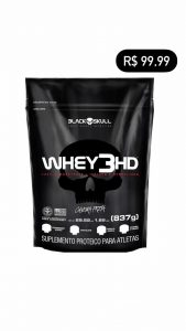 Whey 3HD refil 837g BLACKSKULL