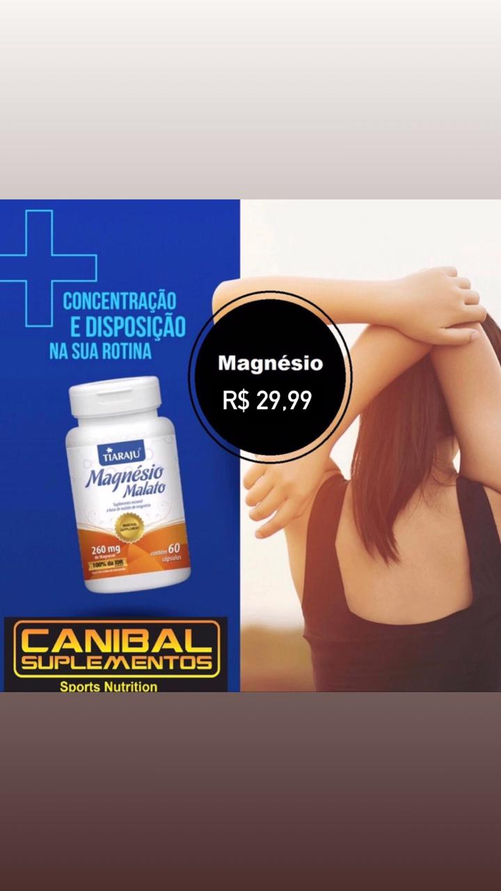 Magnésio Malato 60caps TIARAJU