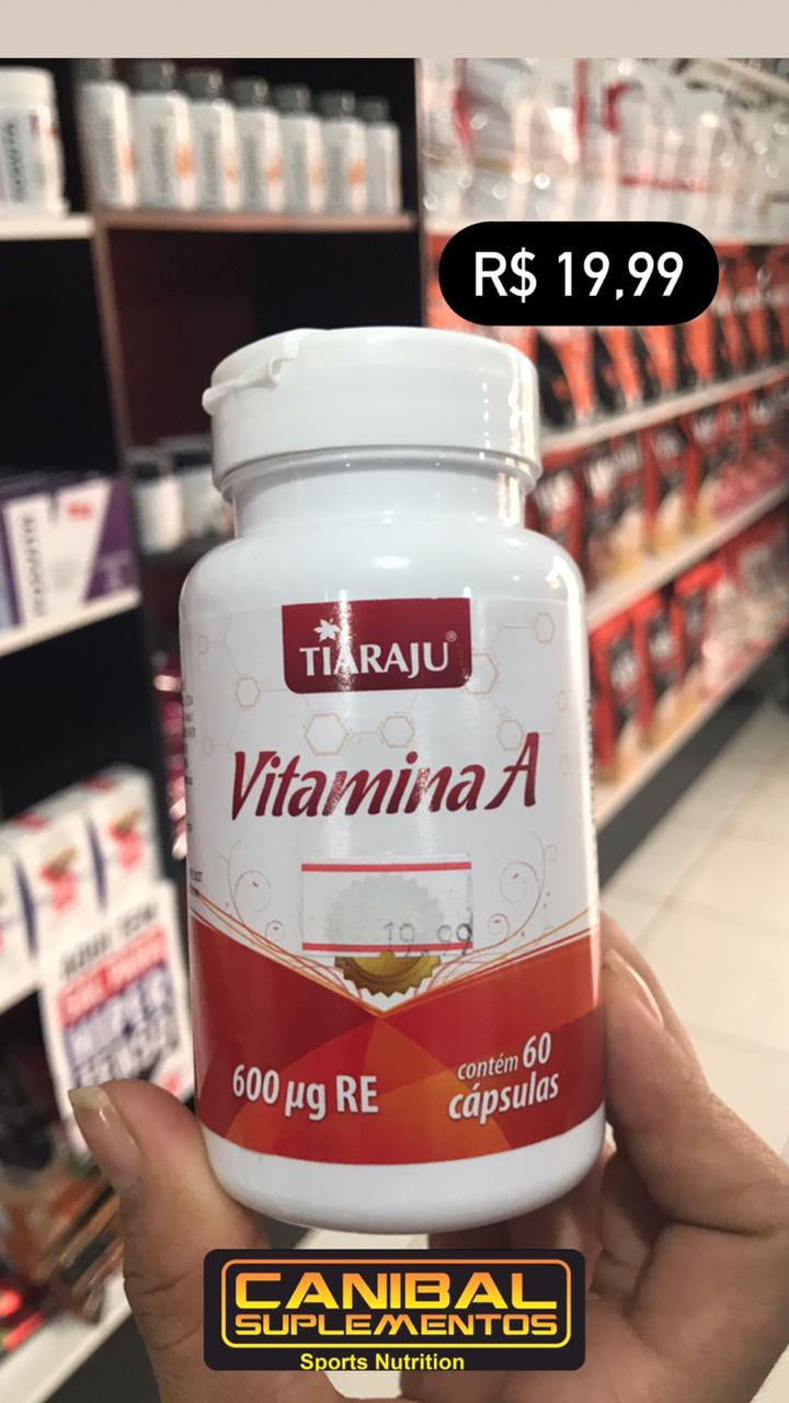 Vitamina A 60caps TIARAJU