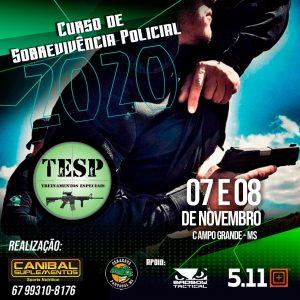 TESP – Sobrevivência Policial (07 e 08 de novembro)