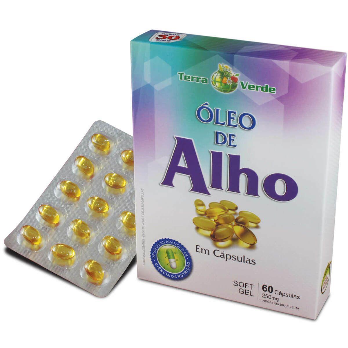 Óleo de Alho  60 capsulas.
