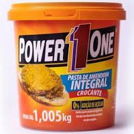 Pasta de Amendoin PowerOne integral crocante