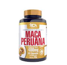 ADA Maca Peruana 60 Cápsulas 400mg