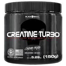 Creatina Turbo 150gr – Black Skull