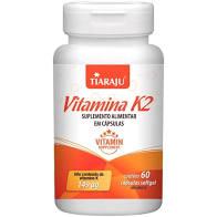 Vitamina K2 – 60 Cápsulas – Tiaraju