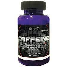 Caffeine – 120caps. – Ultimate Nutrition