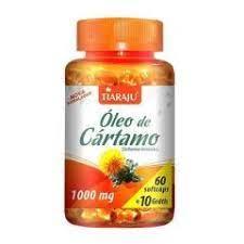 Óleo de Cartamo (1000 mg) – 120 Cáps. Softgel Tiaraju