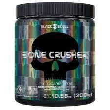 Pré-Treino Bone Crusher 300 g By Eduardo Corrêa – Black Skull