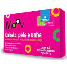 Cabelo, Pele E Unha Com Biotina/vitaminas 40 Comprimidos
