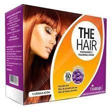 The Hair – 60 Cápsulas – Tiaraju