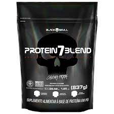 Protein 7 Blend 837g – Black Skull