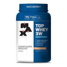 Top Whey 3W Mais Performance (900g) Max Titanium