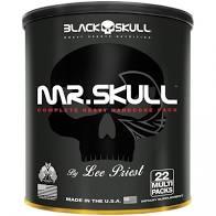Mr Skull (22 Packs), Black Skull