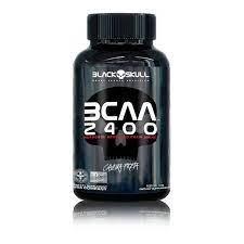 BCAA 2400 Black Skull 30 Tabs