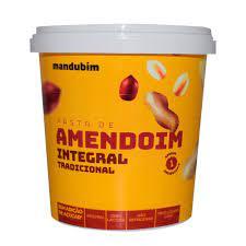 Pasta de Amendoim Integral Tradicional 1kg – Mandubim