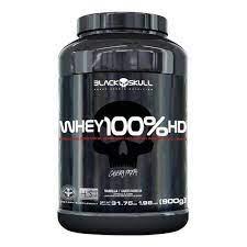 Whey 100% HD 900g – Black Skull